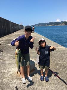 7月30日 シイラ シオ ツバス 太刀魚