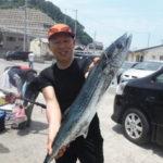 6月4日 シイラ サワラ 石鯛