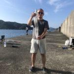 8月23日 シイラ ツバス シオ 石鯛 イシガキ 太刀魚