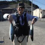 10月25日 ハマチ 太刀魚 イガミ イシガキ