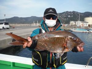 3月27日 真鯛 チヌ カワハギ