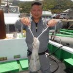 5月9日 ブリ メジロ ハマチ アオリイカ 太刀魚