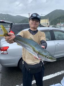 8月16日 メジロ ハマチ シオ 石鯛 イシガキ